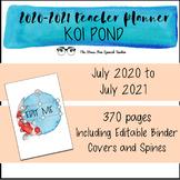 Koi Pond Teacher Planner & Binder 2019 - 2020