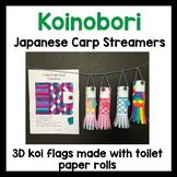 Koinobori 鯉のぼり - Japanese koi flags - craft