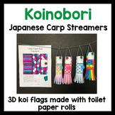Koinobori 鯉のぼり - Japanese koi flags - craft