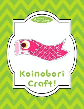 Koinobori/Koi Fish Flag Craft!