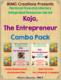 """One Hen""-Kojo, The Entrepreneur: Combo Pack (ELA/Math/Personal Financial Lit.)"