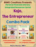 """One Hen""-Kojo, The Entrepreneur: Bundle Pack (ELA/Math/Personal Financial Lit.)"