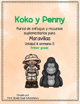 Koko y Penny -Maravillas - Unidad 4 Semana 5