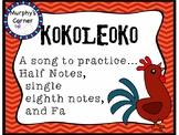 Kokoleoko- A Liberian Folk Song
