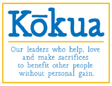 Kokua Poster: Weekly Student Helpers- Hawaii