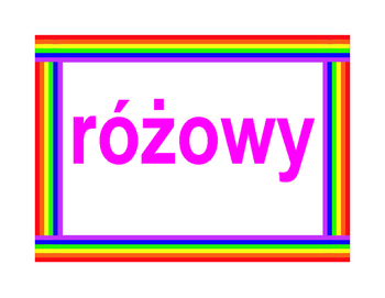 Kolory (Colors in Polish) Posters