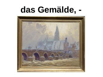 Komm Mit! German Level 2 Chapter 2-3 vocabulary picture pr