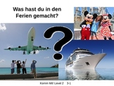 Komm Mit! German Level 2 Chapter 3-1 vocabulary picture pr
