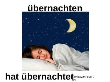 Komm Mit! German Level 2 Chapter 3-3 vocabulary picture presentation