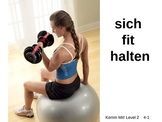 Komm Mit! German Level 2 Chapter 4-1 vocabulary picture pr