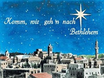 Komm, wir gehen nach Bethlehem