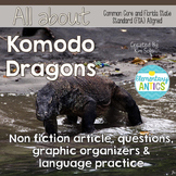 Komodo Dragons Reading Language/Editing Practice-FSA/PARCC