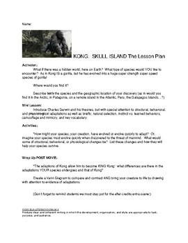 King Kong:  Skull Island--The Lesson Plan