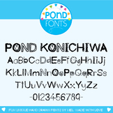 Font - Konichiwa Font - for Personal and Commercial Use