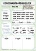 Konosonantforbindelser:  Øvingsark med kr-ord