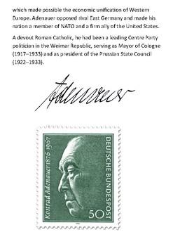 Konrad Adenauer Handout
