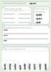 Konsonantforbindelser: Øvingsark med sp-ord