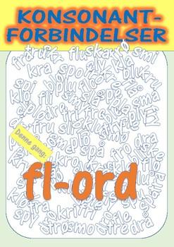 Konsonantforbindelser - fl-ord