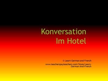 Konversationstraining: Im Hotel