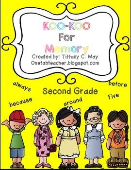Koo Koo For Memory 2nd Grade