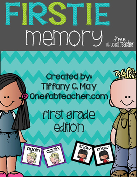 Firstie Sight Word Memory