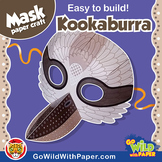 Kookaburra Mask | Printable Craft Activity