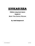 Kookaburra Music Lesson