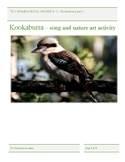 Kookaburra years prep to 3, Song and nature activity and h
