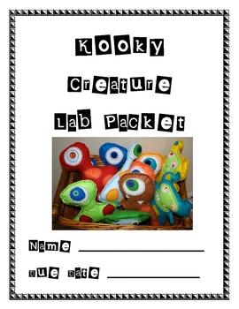 Kooky Creature Packet
