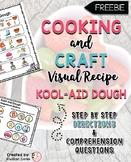 Kool-Aid Dough Visual Recipe {FREEBIE}