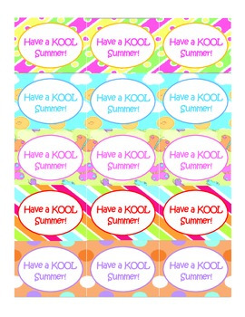 Kool Aid Labels