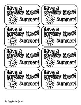 Kool Aid Printable Tags
