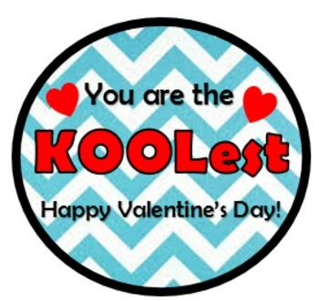Kool-Aid Valentines Tags