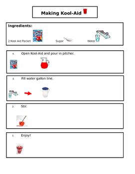 Kool Aid Visual Recipe