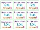 Kool Summer Tags