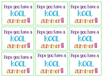 photo relating to Have a Kool Summer Printable called Contain A Insane Kool Summer months Worksheets Training Products TpT