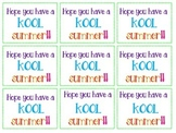 Kool Summer Tags