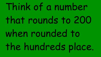 Smartboard Koosh Ball Game- Roundng