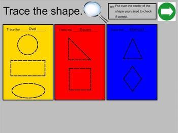 Koosh Ball Geometry Smartboard