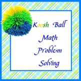 Koosh Ball Math Problem Solving on SMARTBOARD