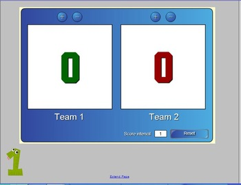 Koosh Ball Multiplication Facts Game (8's and 9's)