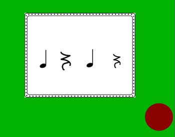Koosh Quest with Quarter Notes, Eighth Notes and Quarter Note Rests