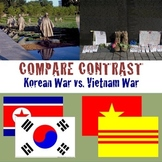 Korea War and Vietnam War, Compare & Contrast, Memorials