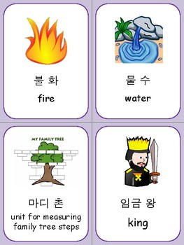 Korean Hanja Flashcards