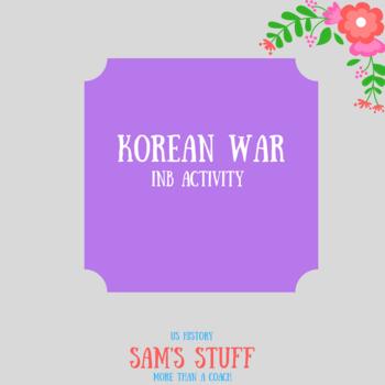 INB Korean War Map Activity
