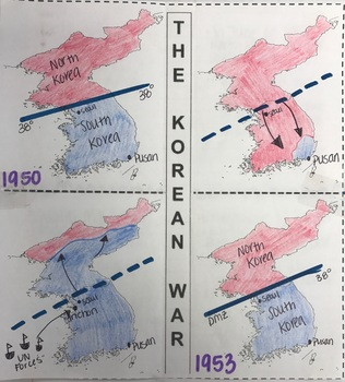INB Korean War Map Activity