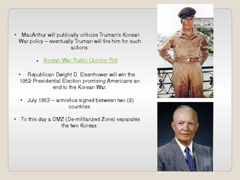 Korean War & Chinese Civil War PowerPoint