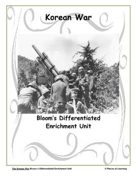 Korean War - Differentiated Blooms Enrichment Unit