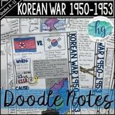 Korean War Doodle Notes
