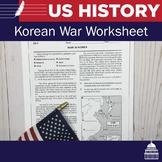 Korean War Handout